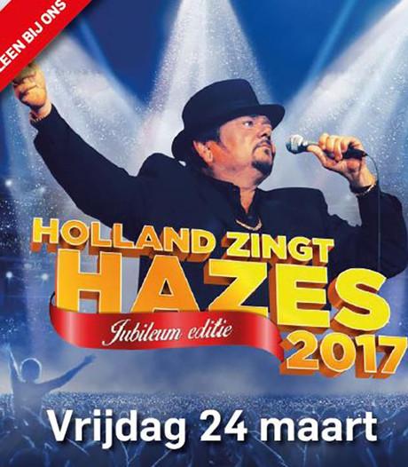 Win vier kaarten voor Holland Zingt Hazes 2017