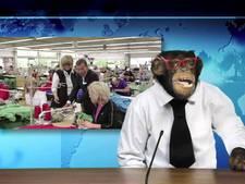 Charly de Duitse chimpansee wordt computeranimatie