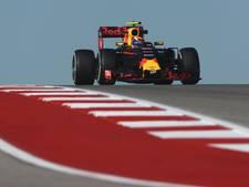 Verstappen sluit training af op vijfde plek