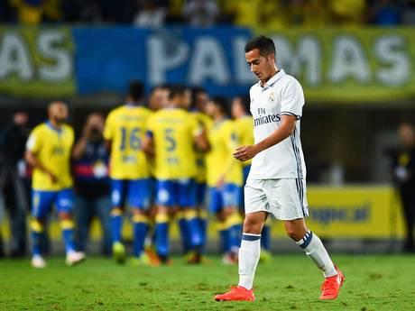 Real Madrid verspeelt punten bij Las Palmas