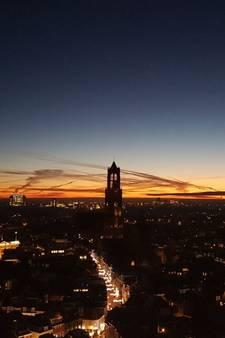 Mooie zonsopgang verrast Utrecht