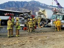 Dertien doden door busongeluk in Californië