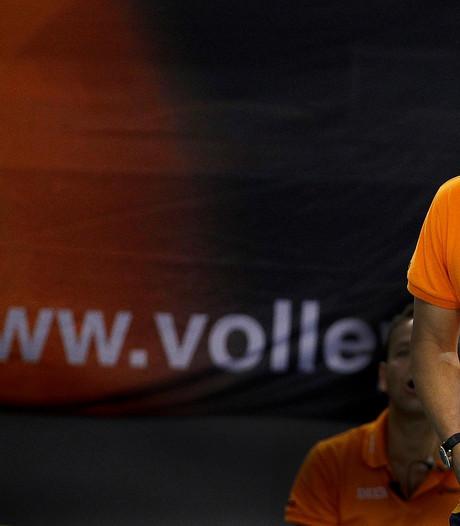 Volleyballers pakken EK-ticket na winst op Turkije