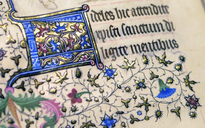 Een detail uit het Getijdenboek.
