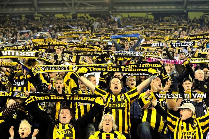 Fans van Vitesse.