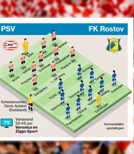 PSV scoorde alleen nog maar voor rust