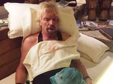 Richard Branson dacht dat hij doodging bij fietsongeluk