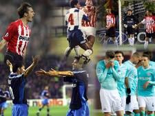 De vijf gedenkwaardigste CL-wedstrijden van PSV