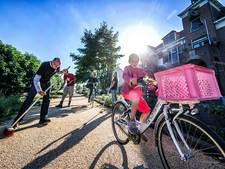 Reeuwijkers voeren actie voor fietspad
