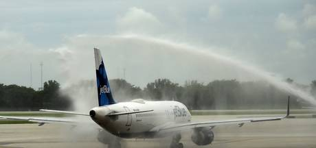 Voor het eerst in 50 jaar weer commerciële vlucht naar Cuba