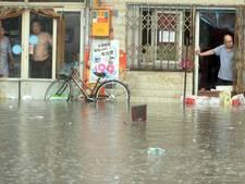 Miljoenen Chinezen geëvacueerd door hevige regenval