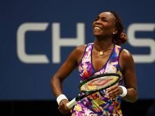 Venus Williams viert grandslamrecord met zege