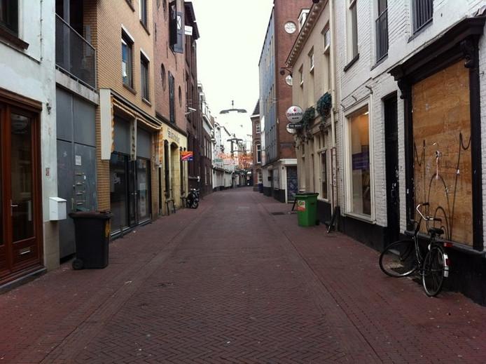 De Varkensstraat in de binnenstad van Arnhem.
