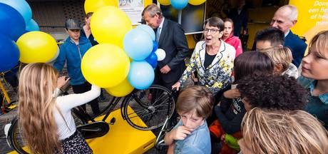 Opgeknapte fietsen voor kinderen uit arme gezinnen