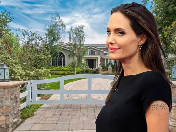 Binnenkijken: in deze villa huilt Angelina Jolie uit