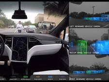 Dit zien alle camera's in de zelfrijdende Tesla