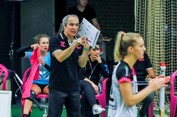 Coach Jacek Ziemba van Flamingo's Activia. Archieffoto