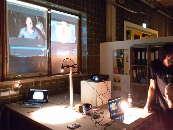 Poëzie en live animaties in Brebl.