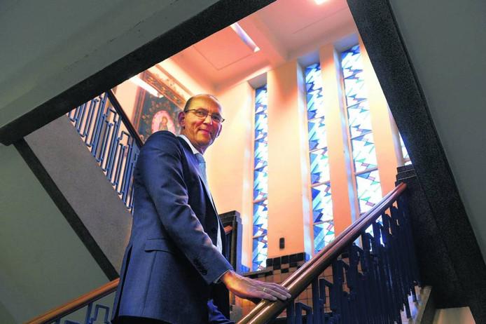 Rector Peter Schaap van het Canisius College moet vertrekken. Do Visser