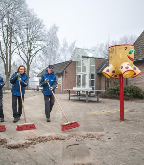 Extra onderhoud schoolpleinen Apeldoorn