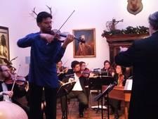Roemeense violist schittert in 's-Heerenberg (video)
