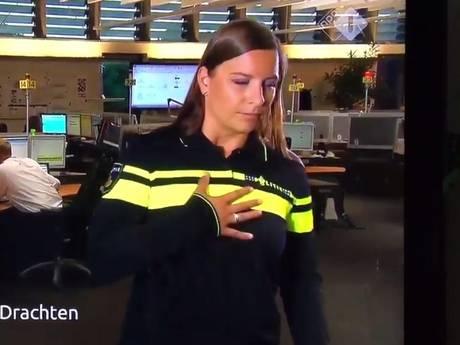 Agente die onwel werd op tv: 'Lichaam liet me in de steek'