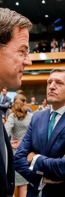Buma en Rutte: rivalen op het Binnenhof