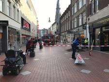 Rechtestraat binnenstad Eindhoven korte tijd deels afgesloten na gaslek
