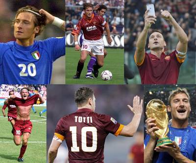 Francesco Totti, icoon van AS Roma