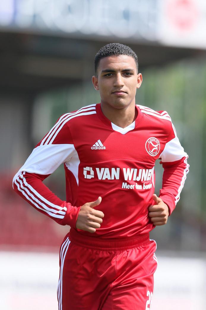 Ayoub Ait Afkir in het shirt van zijn vorige club Almere City.