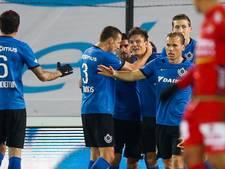 Club Brugge in topper langs Oostende