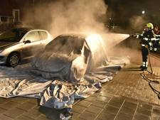 Weer auto's in brand in Culemborg