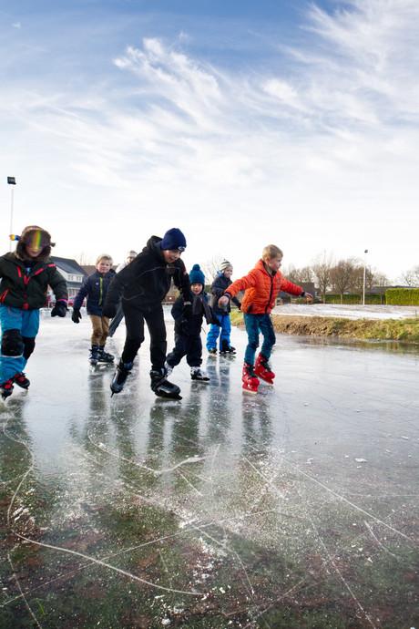 Schaatsbaan Heumen voor het eerst in 5 jaar open