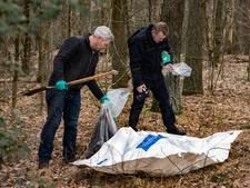 Skelet gevonden in bossen tussen Lage Vuursche en Hilversum