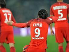 Cavani en Di Maria leiden PSG naar cupfinale