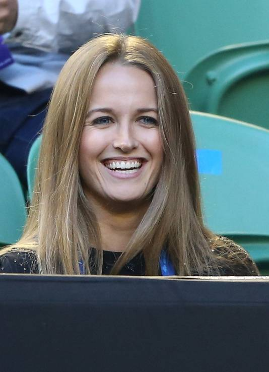 Kim Sears, de vriendin van Andy Murray.