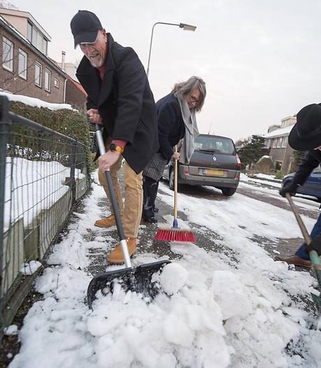 In Arnhem is de stoep zelden sneeuwvrij