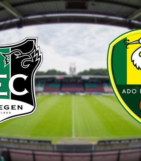 LIVE: NEC ontvangt directe concurrent ADO Den Haag