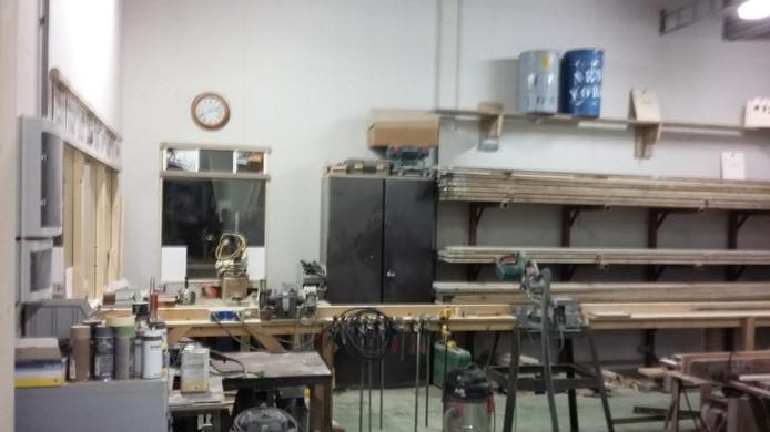 Een van de werkplaatsen in de Smeltkroes.