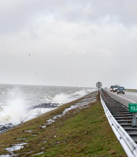 Dijk Lelystad-Enkhuizen open na afsluiting