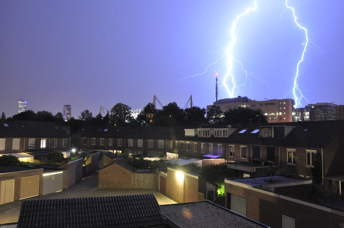 Onweer in Limbeek