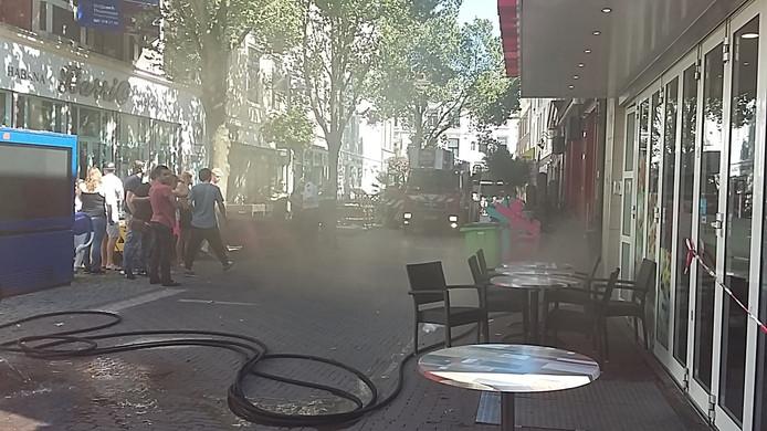 De brand bij Amigo op 25 augustus.