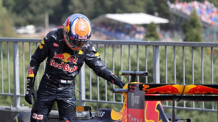 Verstappen: Vettel en Räikkönen verzieken mijn GP