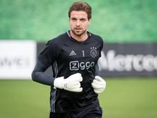 Ajax-keeper Krul krijgt vijf goals tegen bij rentree