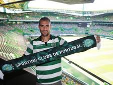 Bas Dost gepresenteerd bij Sporting