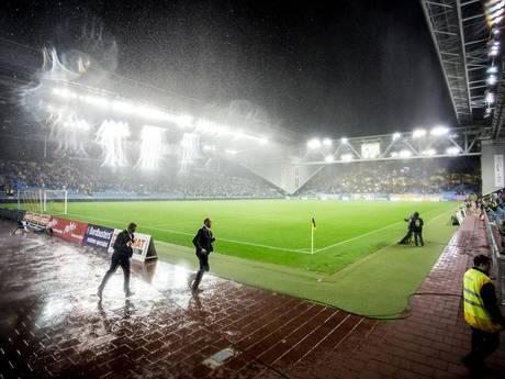 Onweer hindert Vitesse - FC Groningen