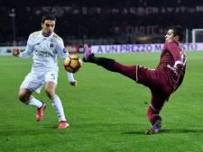 AC Milan komt goed weg met gelijkspel bij Torino