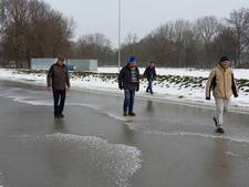 IJsbaan Doetinchem weer dicht na middagje schaatsen