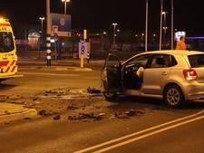 Automobiliste in ziekenhuis na ongeluk in Ede