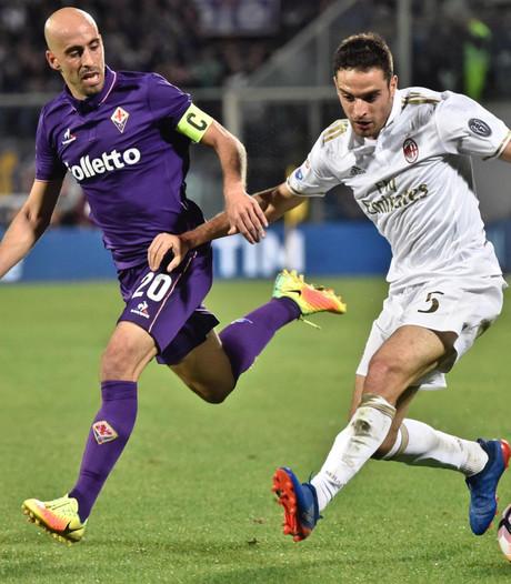 Fiorentina en AC Milan blijven steken op 0-0